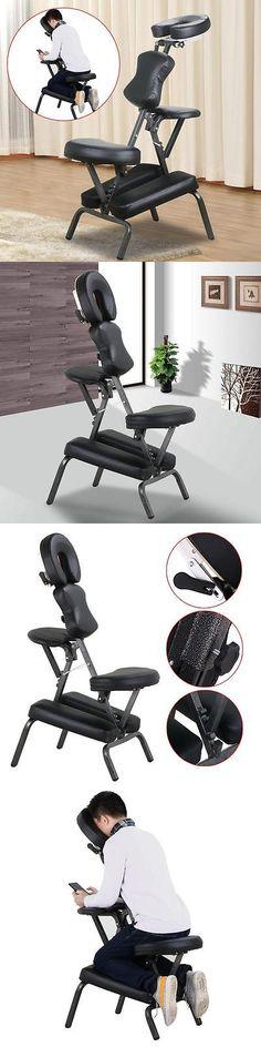 Earthlite Zenvi Portable Massage Sound Chair Black Massage