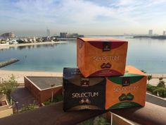 Nuestras cápsulas de café Selectum Espresso en Dubai. Somos muy viajeros.