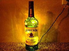 Lighted Jameson Irish Whiskey Bottle Decorative by ashtonspencer, $20.00