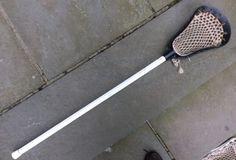 Vintage-Brine-Shotgun-lacrosse-stick-Black-nice