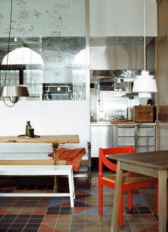 Matsalen Bistrot by Ilse Crawford, Stockholm Milan Furniture, Modern Furniture, Furniture Design, Restaurant Lighting, Restaurant Design, Kitchen Workshop, Kitchen Appliances Brands, How To Clean Bbq, Edwardian House