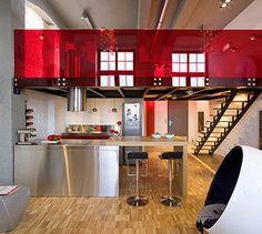 Red interior...