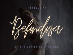 Freebie: Befindisa Script Font