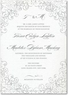 Victorian romance letterpress wedding invitations in ecru east dazzling lace signature white wedding invitations in gunmetal or baroque sarah hawkins designs filmwisefo Gallery