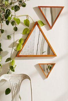 Los triángulos se han puesto de moda, tendencia escandinava por excelencia.