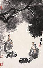 Li Keran (李可染, 1907-1989)