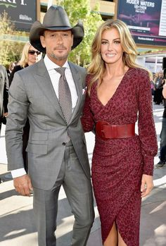 Faith Hill (and her husband Tim)