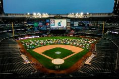 Annual slumber party for Milwaukee Brewer fans at Miller Park Stadium