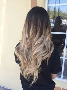 it is so nice and people so want it after i tried it Are you looking for blonde balayage hair color For Fall and Summer? See our collection full of blonde balayage hair color For Fall and Summer and get inspired! Ombre Highlights, Hair Color Balayage, Ombre Hair Color For Brunettes, Blonde Hair Dark Roots Balayage, Fall Balayage, Blonde Balyage, Caramel Highlights, Ombre Color, Dying Hair Blonde