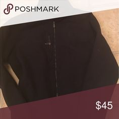 UNDER ARMOUR FLEECE JACKET Men's fleece black jacket, great condition Under Armour Jackets & Coats Performance Jackets