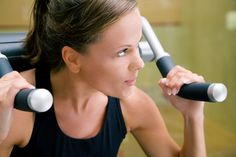 """Have You Ever Experienced """"Gymtimidation""""? (Click for article.) Felt it last week - resolved to try the row machine this year and the first day on it felt so awkward! What helped? Reading an online article about the proper way to use the machine and going to the gym early, when fewer people were there, made a big difference!"""