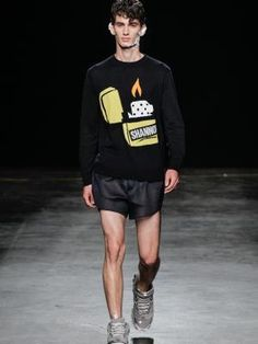 British designer Christopher Shannon has collaborated with lighter manufacturer Zippo for 2015. The partnership will see knitwear from the menswear designer featuring the Zippo windproof lighter, available from December 2015/January 2016, which debuted at Christopher's spring/summer 2016 show at London Collections Men. A limited run of Zippo x Christopher Shannon windproof lighters with three different designs will also launch later this year.