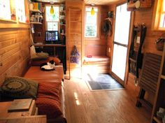 The DIY Tiny House Built and Occupied by a Family of 4 | Designs & Ideas on Dornob