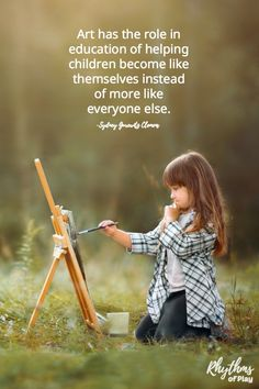 The best art supplies for kids. Quality art materials are said to educate the se… The best art supplies for Montessori, Teaching Quotes, Kindergarten Quotes, Teaching Resources, Artist Quotes, Art And Craft, Helping Children, Trendy Kids, Childhood Education