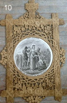 FleaingFrance...Stations of the Cross Cut Lace Cards