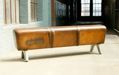 vintage pommel horse. entry bench. so fun with kids around!