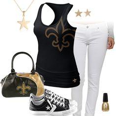 54 Best New Orleans Saints Fashion Style Fan Gear Images New