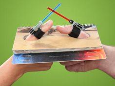 lightsaber thumb wrestling!!
