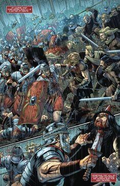 Britannia: Lost Eagles of Rome Issue - Read Britannia: Lost Eagles of Rome Issue comic online in high quality Rome History, Ancient History, Roman Warriors, Roman Legion, Empire Romain, Roman Soldiers, Bd Comics, Roman Art, Historical Art