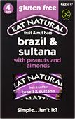 Eat Natural Gluten Free Bars Brazils Sultanas Almonds Peanuts and Hazelnuts (4x35g)