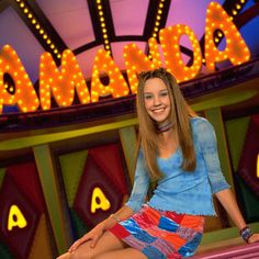 The Amanda Show. She was entertaining before she started doing all the drugs and being real crazy.