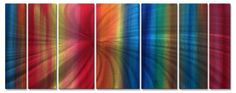 Rainbow Effect Metal Art >>> This is an Amazon Affiliate link. Visit the image link more details.