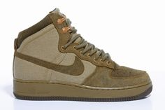 Nike Air Force 1 Hi Military ... The Nike Air Force 1 has been made into something ...
