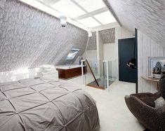 30+ Wonderful Attic Master Bedroom with Skylight