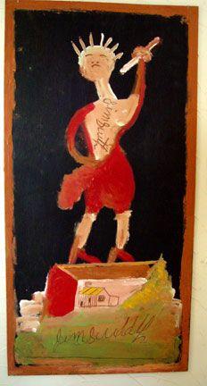 JIMMY LEE SUDDUTH (1910-2007)   STATUE OF LIBERTY