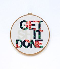 Great Screen Cross Stitch quotes Style Subversive Cross Stitch Get Shit Done Quote Cross Stitch Cross Stitch Borders, Cross Stitch Alphabet, Cross Stitch Designs, Cross Stitching, Cross Stitch Free, Cross Stitch Beginner, Counted Cross Stitch Patterns, Cross Stitch Embroidery, Embroidery Patterns