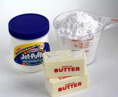 Marshmallow Buttercream Frosting, How to make boxed cake mix taste better.