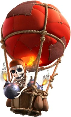 clash of clans balloon - Google Search