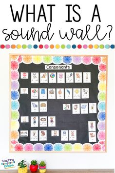 Learn about Sound Walls and How to Use them in the Primary Classroom