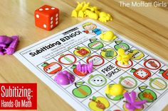 Help students master number concepts using common patterns and number combinations with the Subitizing Fall Edition NO PREP Packet. This is the perfect foundation for addition and subtraction.