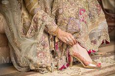Pakistani Bridal Hairstyles, Pakistani Wedding Dresses, Actress Feet, Wedding Wear, Wedding Shoes, Wedding Stuff, Wedding Gowns, Bridal Sandals, Bridal Photography