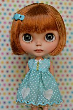 """2PCS Takara 12/"""" Blythe Doll Factory  Blythe/'s Coat /&skirt Outfit JS93-2"""