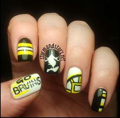 Gonna need to get some Bruins nails done for March!