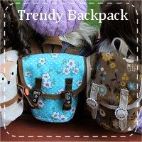 New Designer Animal Face 3D Chocolate Lab Puppy Backpack Child Back Pack