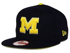 separation shoes 3e1f8 85b9a Michigan Wolverines New Era NCAA Core 9FIFTY Snapback Cap Hats Caps Game,  Michigan Wolverines,