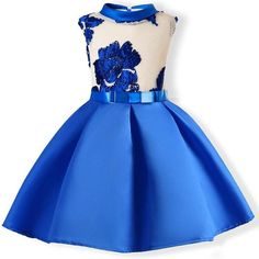 Child Girls Princess Dress Kids Party Flowers Embroidery Wedding Formal Dresses Attention plz: If your kid is chubby, we recomend choosing a larger size, thanks Girls Dresses Online, Girls Party Dress, Toddler Girl Dresses, Little Girl Dresses, Toddler Outfits, Baby Dress, Nice Dresses, Kids Outfits, Dress Party