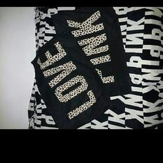 Pillowcase set from PINK Animal print Used only as decoration  Never slept on Black Nice condition Ships quick Smoke free home PINK Victoria's Secret Tops Sweatshirts & Hoodies