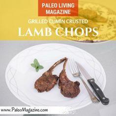 Grilled Cumin Crusted Lamb Chops Recipe