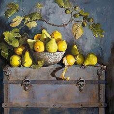 Diana Watson Art Painting Gallery, Painting & Drawing, Still Life Artists, Fruit Painting, Soul Art, Fruit Art, Famous Artists, Creative Art, Flower Art