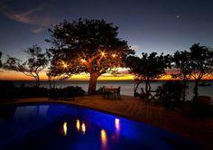 Que lindo atardecer en Mozambique,África