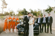 Photography: Kate Robinson Photography - www.katerobinsonphotography.com/  Read More: http://www.stylemepretty.com/2014/06/17/modern-and-whimsical-orange-wedding-in-australia/