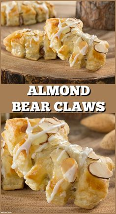 Almond Bear Claws are a bakery favorite that are un-BEAR-ably good, and now you can make them at home!
