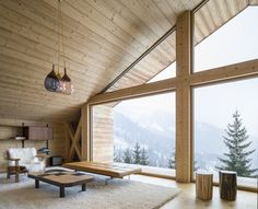 Studio Razavi Architecture's 'Mountain House' avoids artificial and obsolete Alpine elements