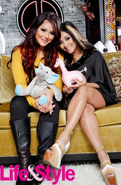 JWoww to Life & Style: Snooki's Pregnancy Made Me Want a Baby | Life & Style Weekly - I know how that shit is my bestfriend hadda baby and then the rest of my girls did too n I wanted one but I realized my time will come lol ;) <3 no need to rush :)