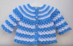 Crochet Jacket for Baby – Free Pattern   love Crafs