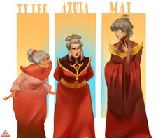 beetlezh: Avatar is coming to an end. I never received a long-awaited happy princess of fire, Well I will be sad and draw Azula. Eternity. ;_;